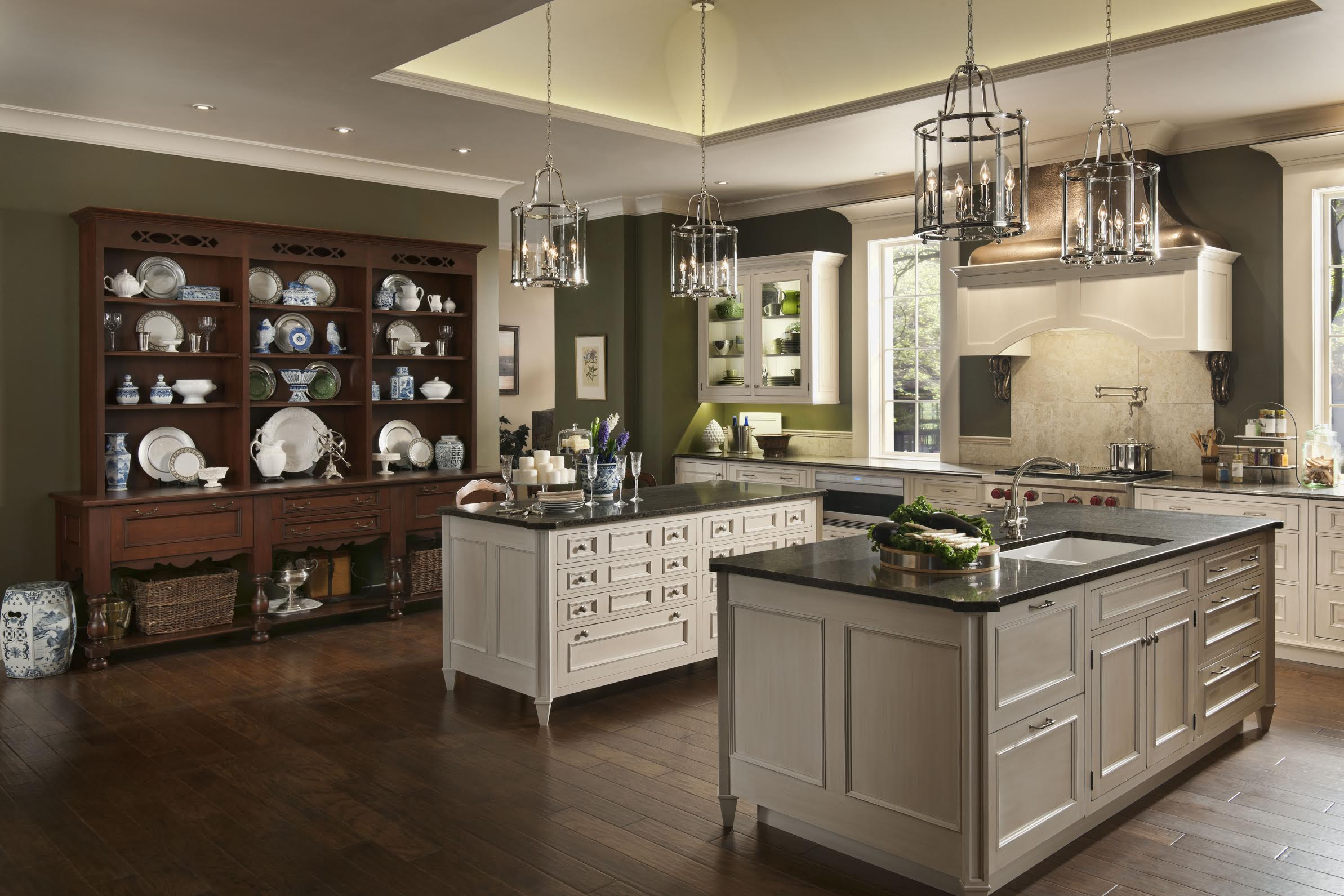 Houston Cabinets Design - Wood-Mode and Brookhaven Design ...